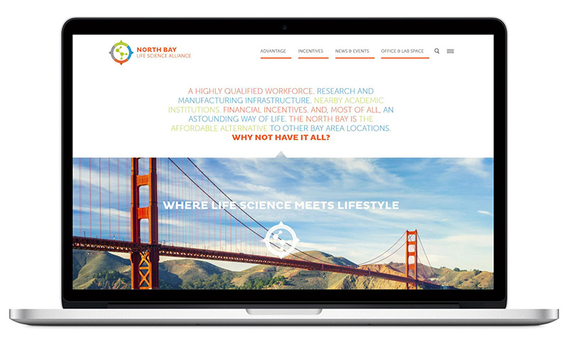 North Bay Life Science Alliance - website