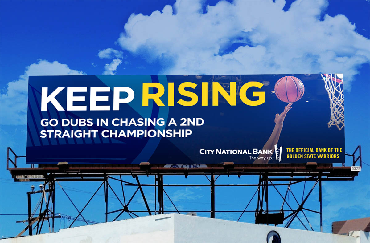 CNB Billboard Advertisement