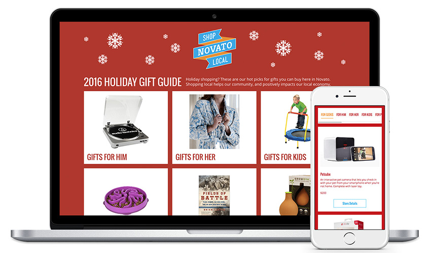 Shop Local Novato Local Gift Guide